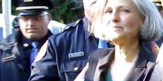 La candidate écologiste à la présidence des USA arrêtée lors du débat