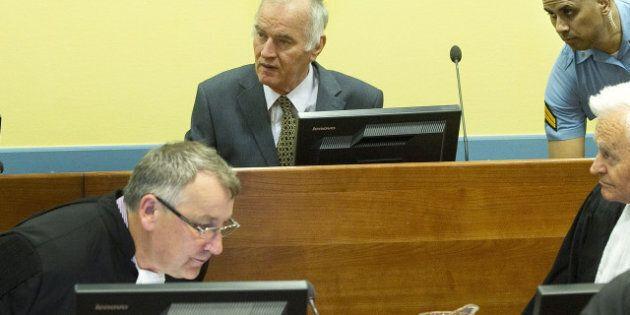 Le procès de Ratko Mladic est ajourné pour