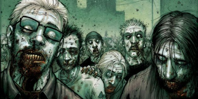 Les cannibales zombies s'attaquent à la bande-dessinée