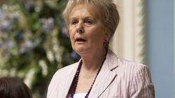 La ministre Gagnon-Tremblay sermonne