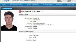 Interpol diffuse la photo de Luka Rocco Magnotta