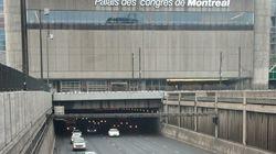 Le tunnel Ville-Marie fermé