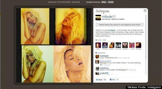 Rihanna topless: elle enlève (encore) le haut pour son parfum «Nude»