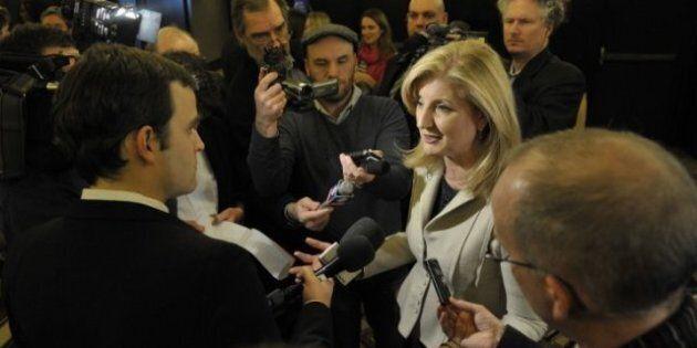Arianna Huffington lance le Huffington Post Québec à