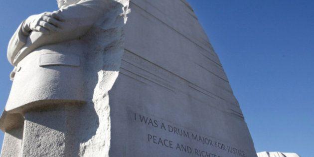 Martin Luther King: la citation tronquée sur le mémorial sera