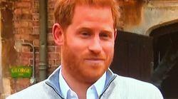 El detalle de la rueda de prensa del príncipe Harry: fíjate bien al