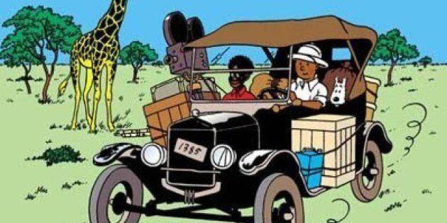 Tintin au Congo autorisé en