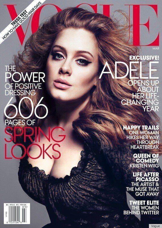 (PHOTOS) Adele sur la couverture de