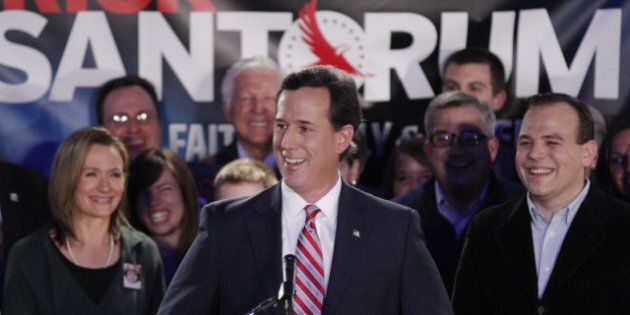 Rick Santorum pourrait renverser Mitt Romney au Michigan, selon divers