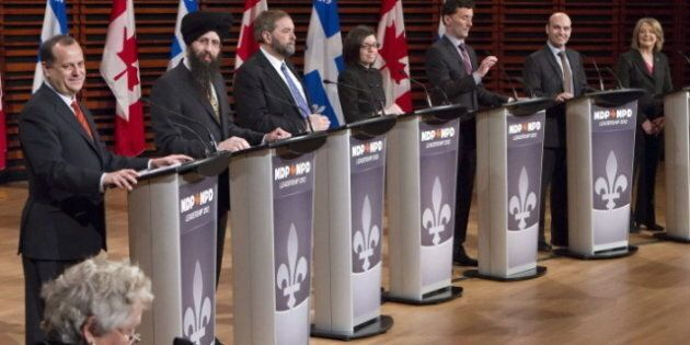 Course à la chefferie du NDP: les candidats s'appuient sur des sondages