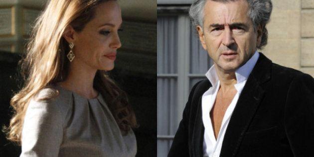 Angelina Jolie choisit Bernard-Henri Lévy pour présenter son film à