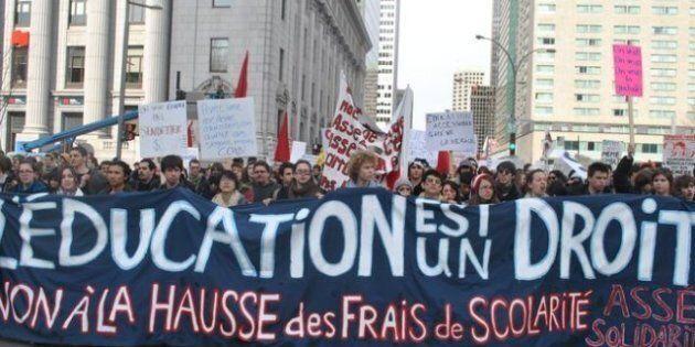 10 000 étudiants seraient en grève contre la hausse des droits de