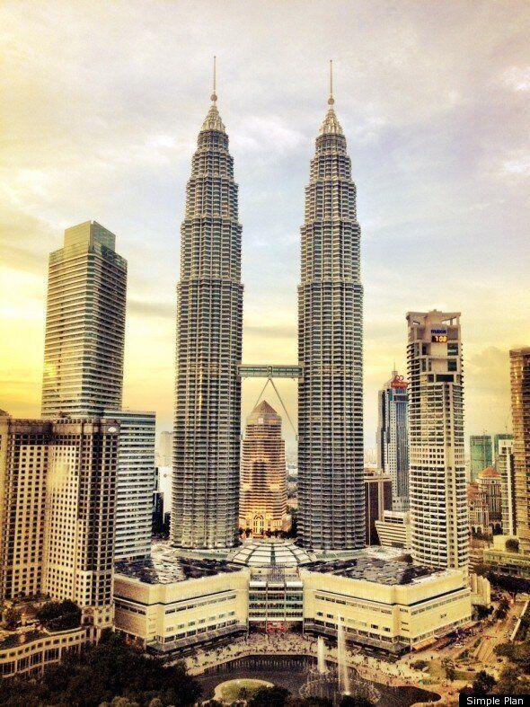 Simple Plan en Asie: Journal de