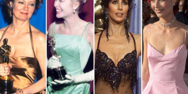 Oscars des meilleures actrices: 80 années de belles robes
