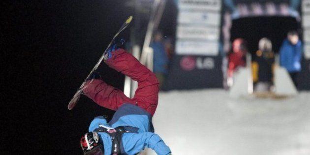 Coupe du monde de surf des neiges: Truchon décroche sa première
