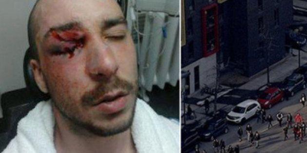 Affrontements entre policiers et étudiants: les deux camps