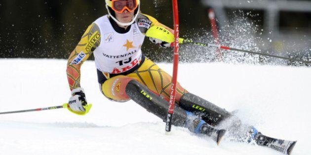 La Québécoise Marie-Michèle Gagnon finit 3e au slalom de Are, en