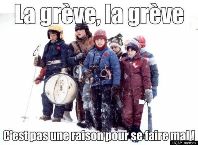 (PHOTO): La grève, la grève... C'est pas une raison pour se faire
