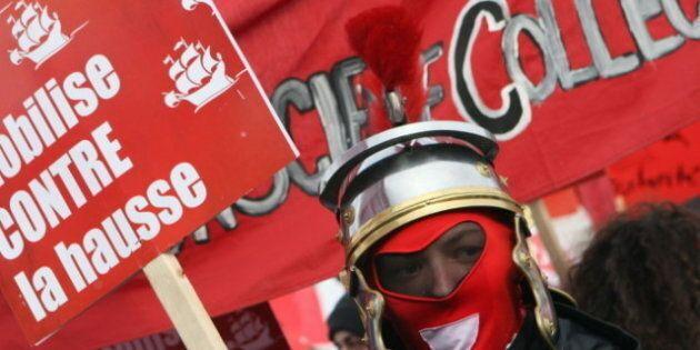 Grève étudiante: les étudiants veulent se faire entendre grâce à de nouveaux