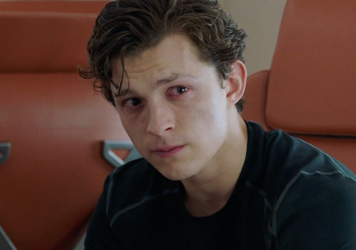 "Tom Holland's Peter Parker is in mourning in the second ""Spider-Man: Far From Home"" trailer."