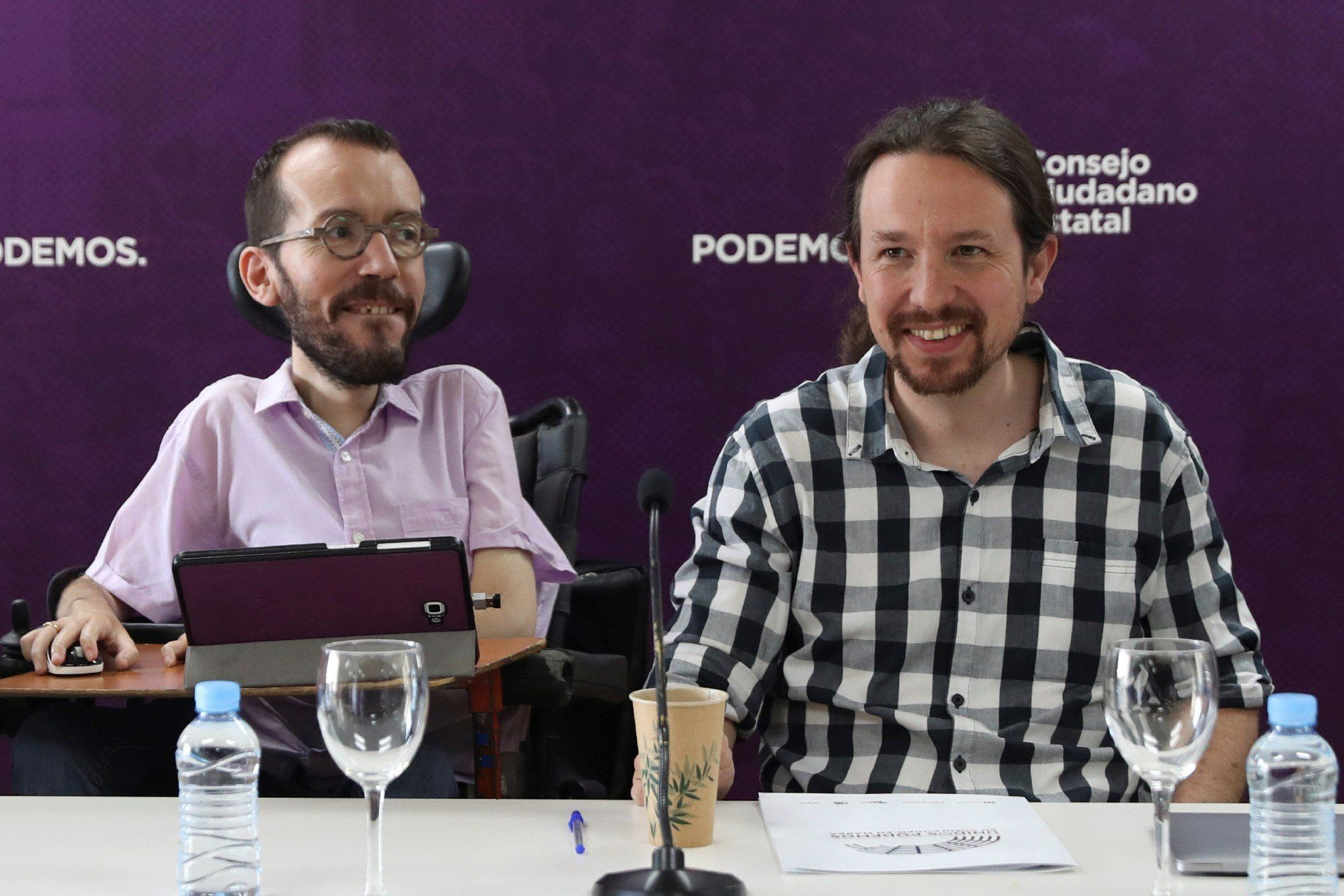Iglesias ofrece un Gobierno de coalición