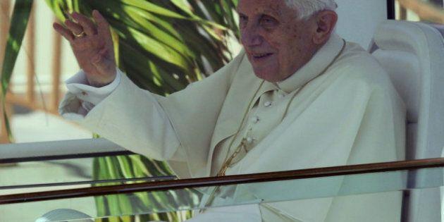 Le pape Benoît XVI est arrivé à