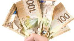 Insolite: de l'argent sur la