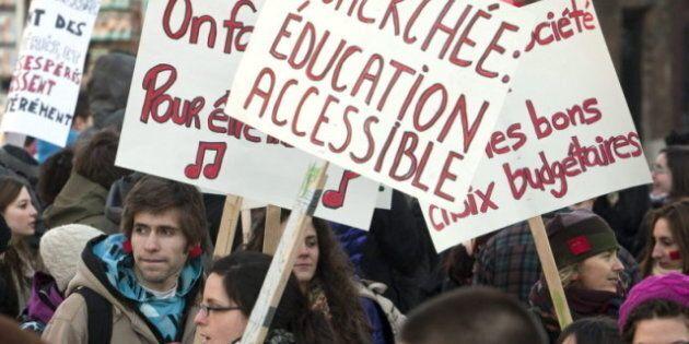 Les étudiants veulent que la ministre Beauchamp ouvre plus grande la