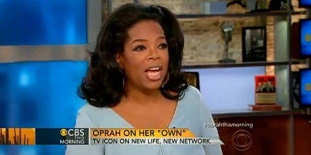 Oprah Winfrey a encore confiance en l'avenir de sa chaîne