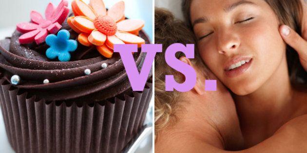 Chocolat ou sexe? Que préfèrent les femmes? On vote!