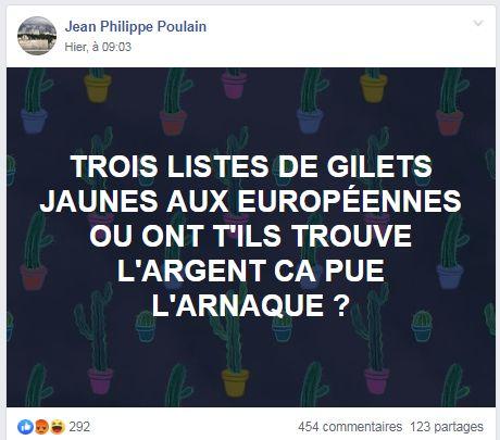 Européennes: pourquoi les listes gilets jaunes font un flop auprès des gilets