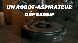 Ce robot-aspirateur est programmé pour hurler de