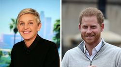 Ellen DeGeneres Dishes On Her Afternoon With Prince Harry, Meghan