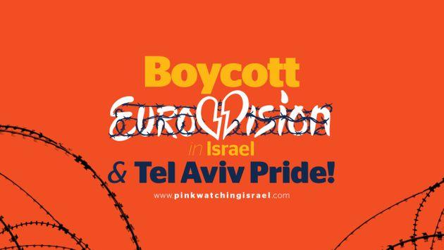 Uno de los carteles usados por el movimiento BDS para pedir el boicot a