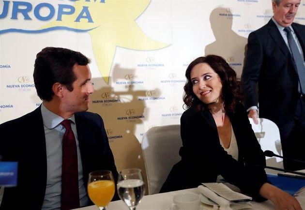 Isabel Díaz Ayuso, candidata del PP a la Comunidad de