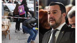 Salvini a Napoli, in visita all'ospedale dove è ricoverata la piccola
