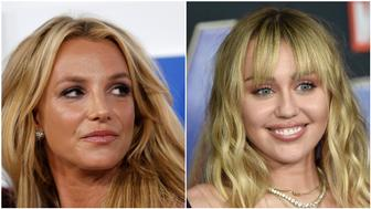 Britney Spears/ Miley Cyrus