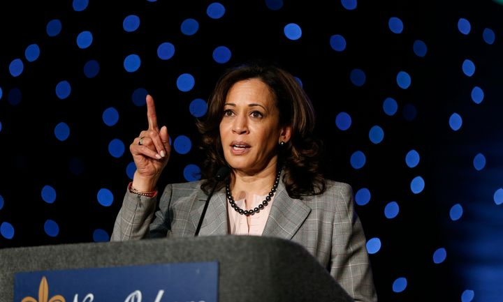 Sen. Kamala Harris just broke from her record of opposing all of Trump's judicial nominees this year, for some reason.