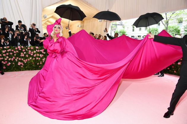 Lady Gaga's 2019 Met Gala Look Is A Campy Quick-Change