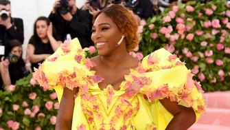 NEW YORK, NEW YORK - MAY 06:  Serena Williams attends The 2019 Met Gala Celebrating Camp: Notes on Fashion at Metropolitan Museum of Art on May 06, 2019 in New York City. (Photo by Jamie McCarthy/Getty Images)