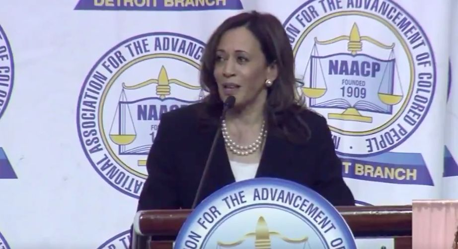 Kamala Harris Responds To People Who Question Candidates'