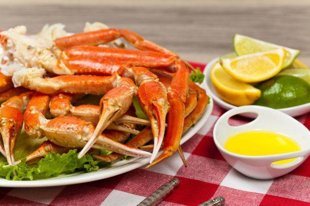 Crabe beurre et citron