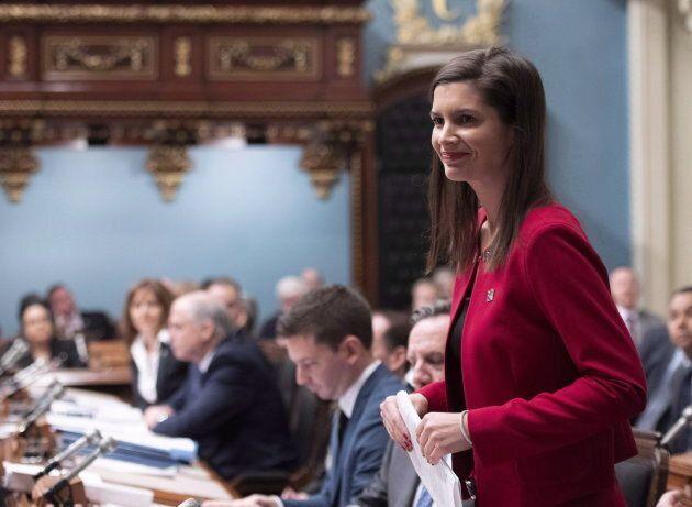 Geneviève Guilbault, vice-première ministre et ministre de la Sécurité