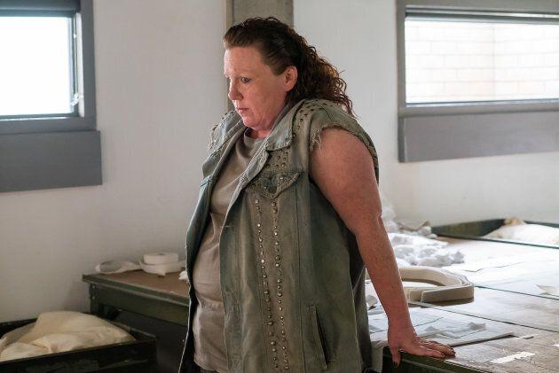 Kathleen Fortin dans «Unité 9».