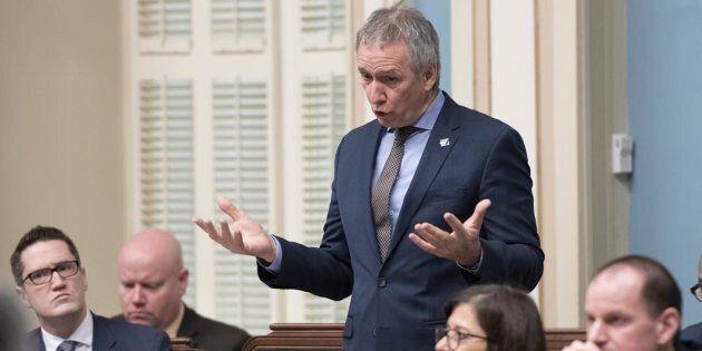 Le ministre de l'Agriculture, des Pêcheries et de l'Alimentation, André