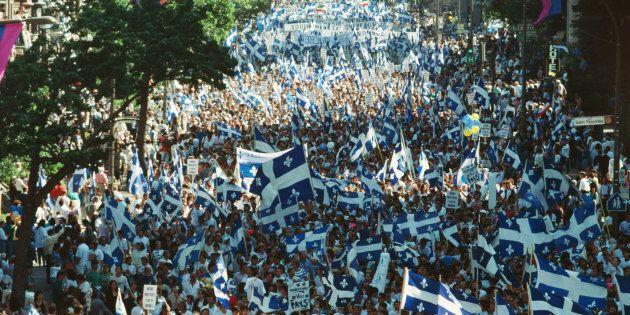 Les OUI Québec veulent remettre le sujet de l'indépendance à