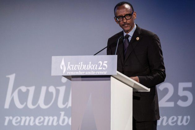 Le président du Rwanda, Paul