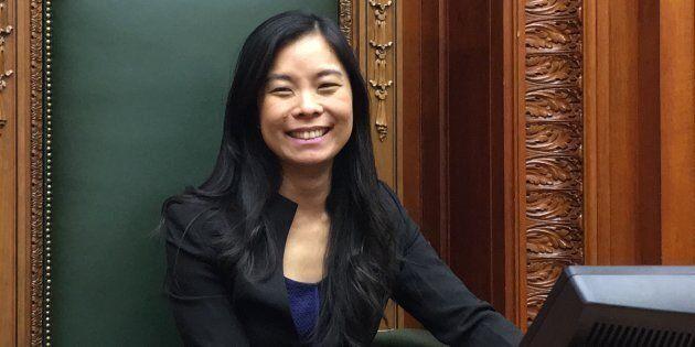 Cathy Wong, présidente du conseil municipal de Montréal.