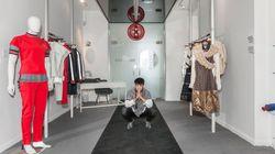 Antonio Ortega, le créateur d'ici qui défile à Paris, a sa boutique à
