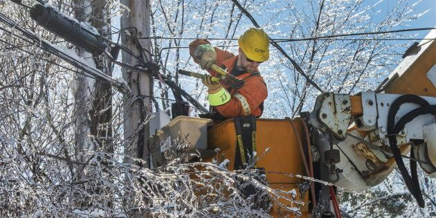 Tous les clients d'Hydro-Québec devraient être rebranchés